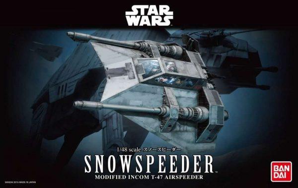 Snowspeeder T-47 Airspeeder Model Kit Bandai
