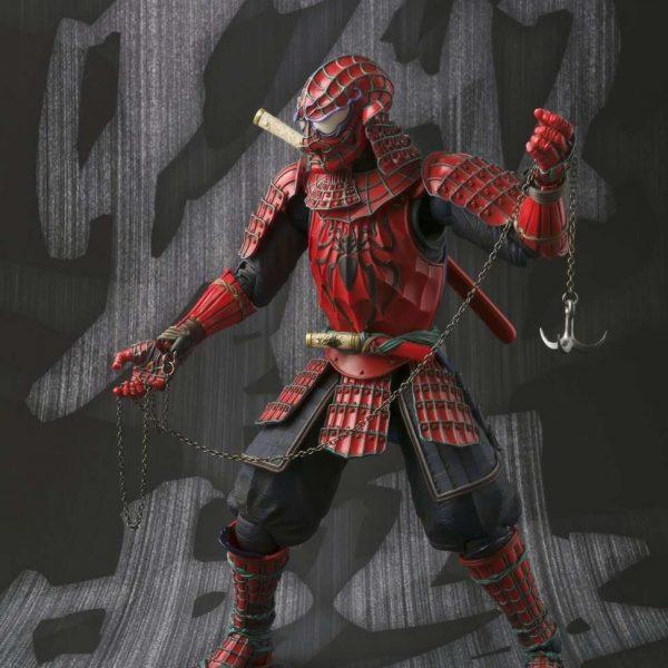 Samurai Spider-Man Manga Realization Bandai