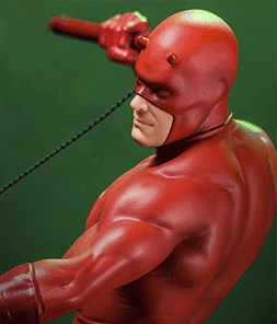 Daredevil Marvel Comics Art Scale Iron Studios