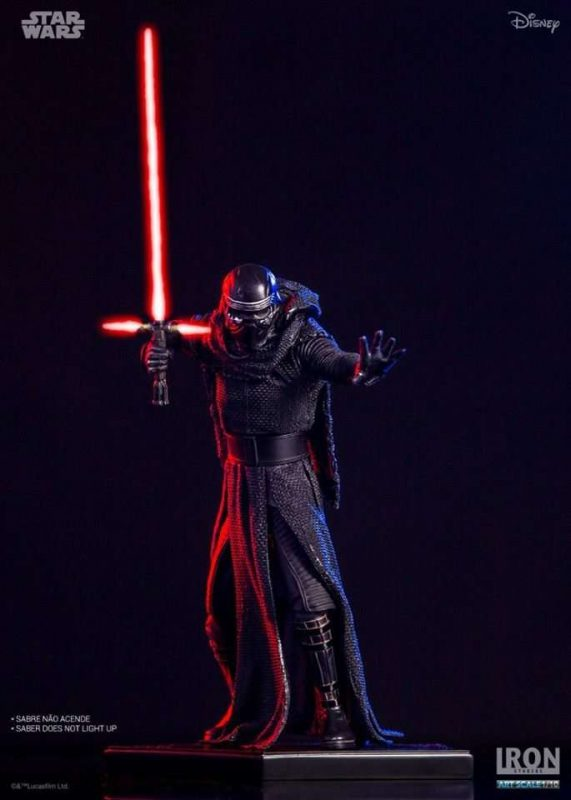 Kylo Ren The Force Awakens Art Scale Iron Studios