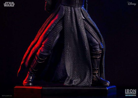 Kylo Ren The Force Awakens Art Scale Iron Studios