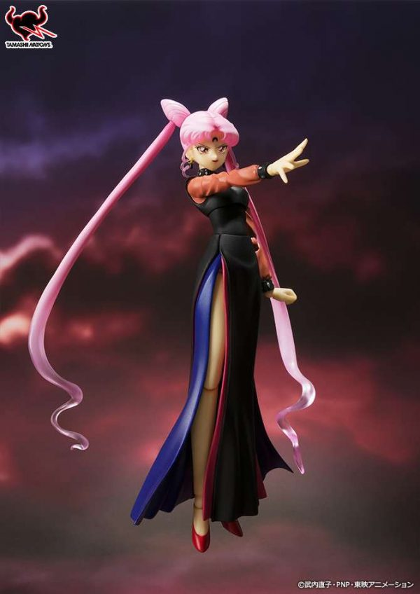 Black Lady Sailor Moon S.H.Figuarts Bandai