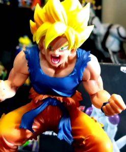 Son Goku Super Saiyan Dramatic Showcase Banpresto