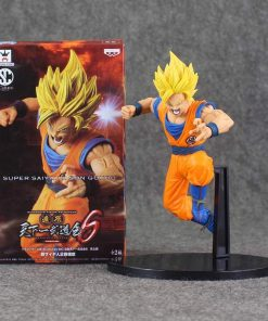 Son Goku Super Saiyan 2 Batalha Scultures Big Banpresto