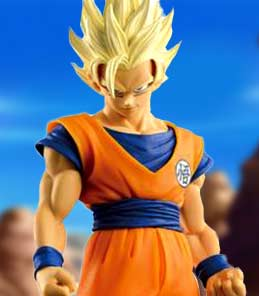 Son Goku Super Saiyan 2 SCultures Big Banpresto