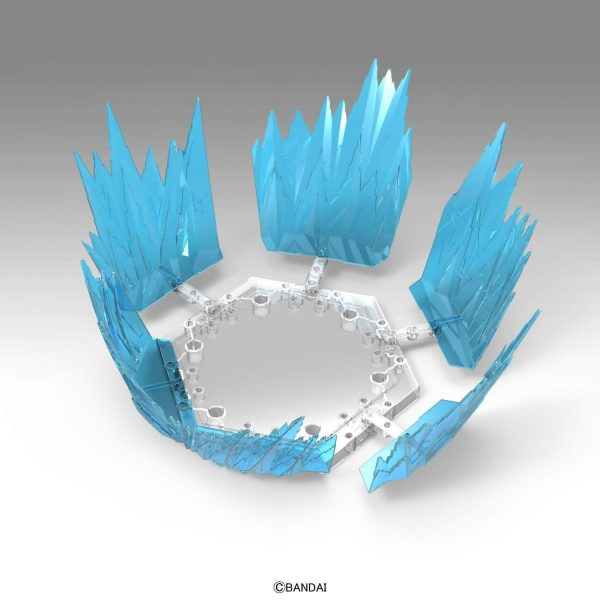 Aura Effect Blue Figure Rise Standard Bandai