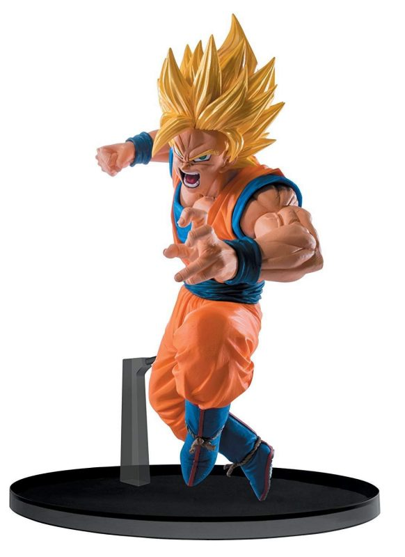Son Goku Super Saiyan 2 Sculture Big Banpresto