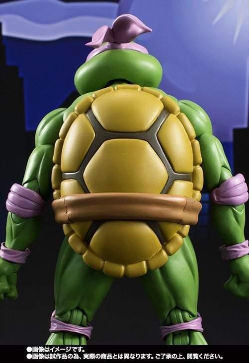 Tartarugas Ninjas Donatello SH Figuarts Bandai