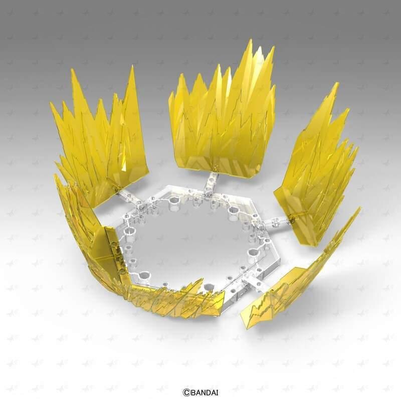 Aura Effect Yellow Figure Rise Standard Bandai