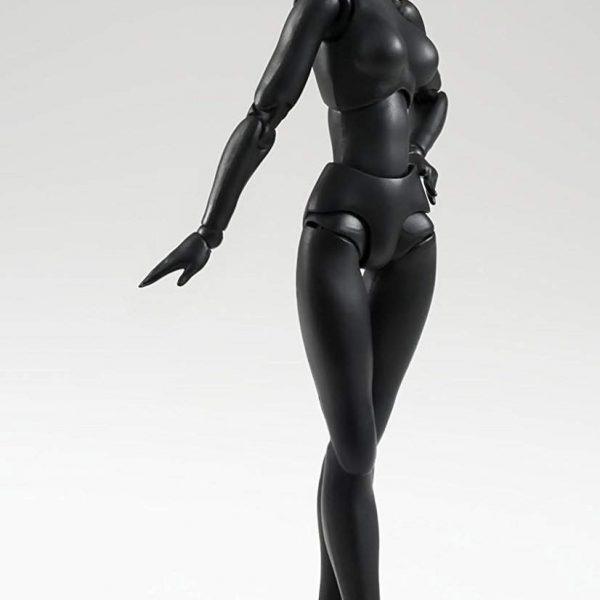 Woman Black Solid Color S.H.Figuarts Bandai