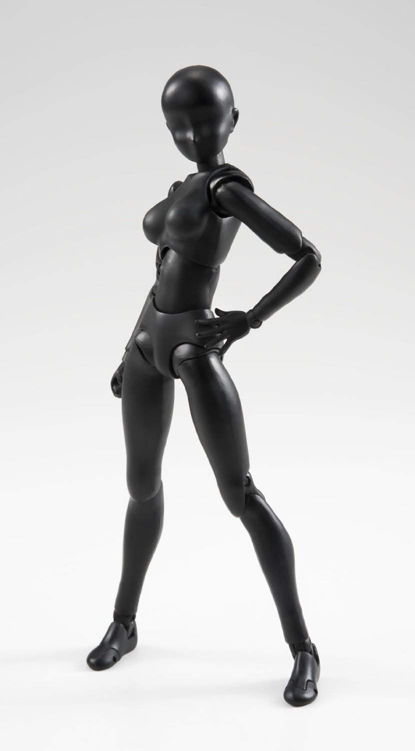 Woman Black Solid Color S.H.Figuarts Bandai