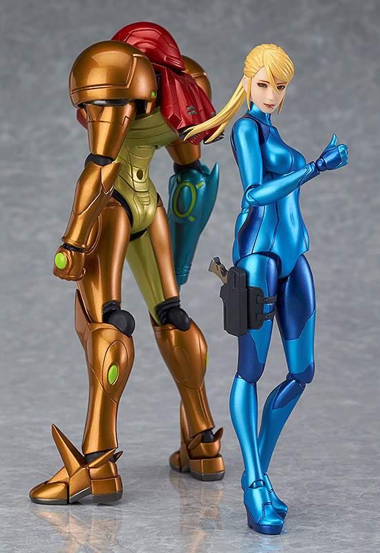 Samus Aran Zero Suit Metroid Other M Figma