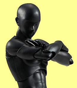 Man Black Solid Color S.H.Figuarts Bandai