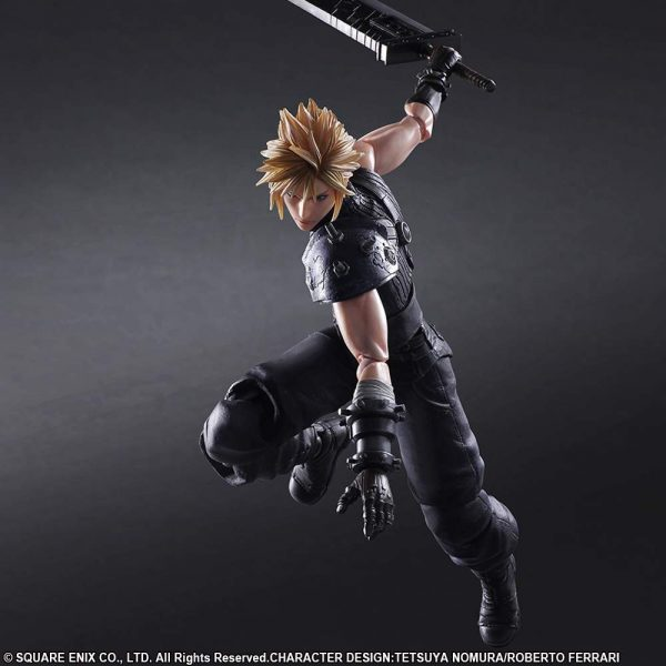Cloud Strife Final Fantasy VII Remake No.1 Play Arts Kai Square Enix