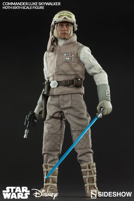 Star Wars Luke Skywalker Hoth Sideshow Sideshow Collectibles