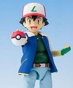 Pokemon Ash Ketchum S.H. Figuarts Bandai