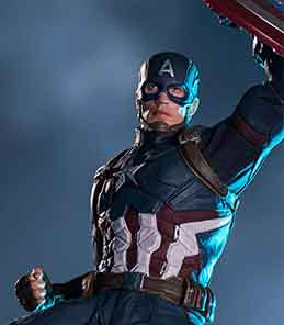 Captain America Civil War Art Scale Iron Studios