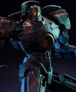 Pacific Rim Gipsy Danger Statue Sideshow Collectibles