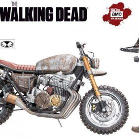 Daryl Dixon with New Bike Action Figure - McFarlane Toys