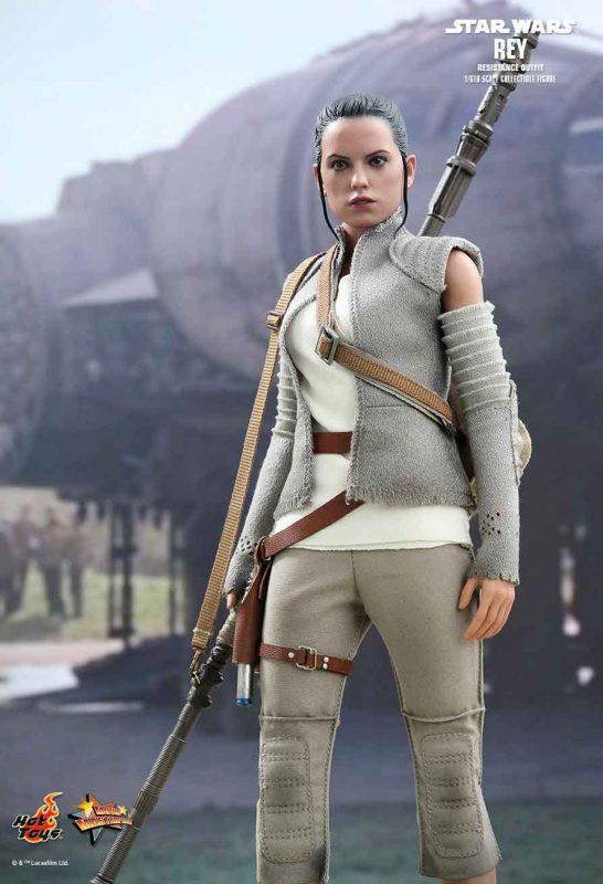 Rey Resistance Ver. Hot Toys