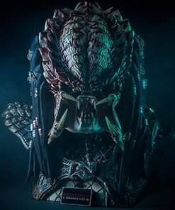 Predator 2 Bust Life-Size CoolProps Sideshow Collectibles