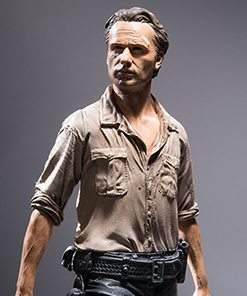 Rick Grimes Color Tops Series - McFarlane Toys