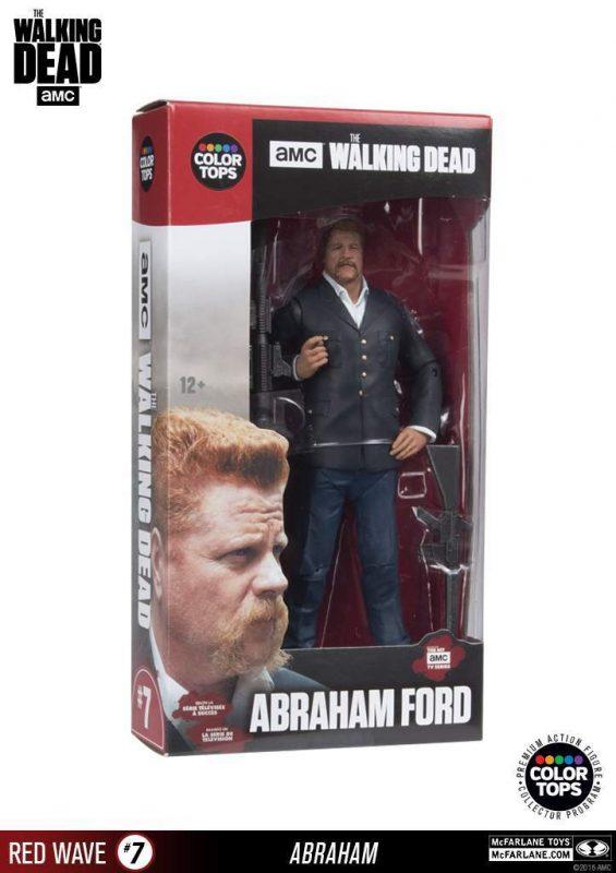 Abraham Color Tops Series McFarlane Toys