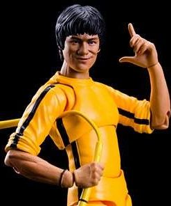 Boneco Bruce Lee Yellow Track Suit S.H.Figuarts