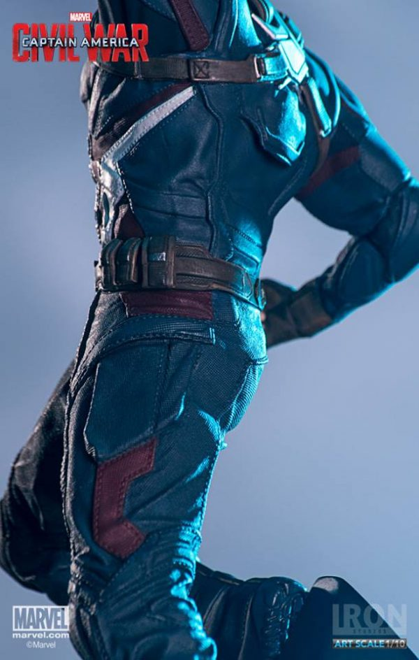 Captain America Civil War Art Scale Iron Studios