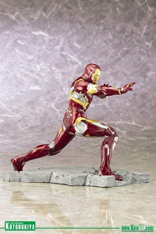 Iron Man Mark 46 Civil War Artfx+ Statue Kotobukiya