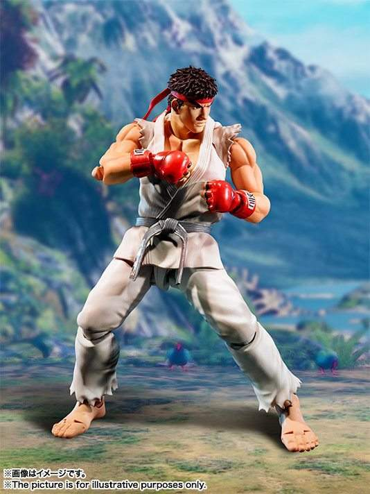 Ryu Street Fighter V S.H.Figuarts Bandai