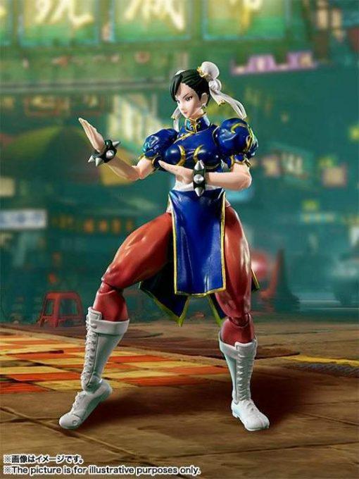 Chun-Li Street Fighter V S.H.Figuarts Bandai