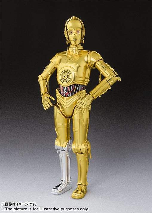 C-3PO A New Hope S.H. Figuarts.
