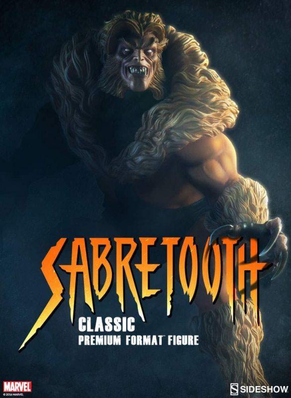 Sabretooth Classic Costume - Premium Format