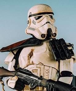 Star Wars Sandtrooper - Premium Format