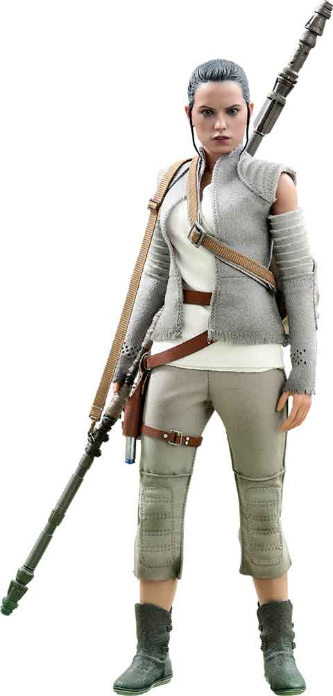 Rey Resistance Hot Toys