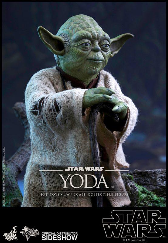 Yoda The Empire Strikes Back Hot Toys