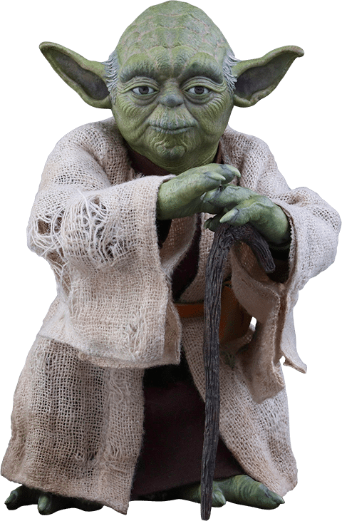 Yoda The Empire Strikes Back Hot Toys Sixth Scale