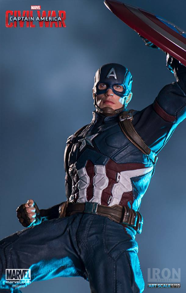Captain America Civil War Iron Studios