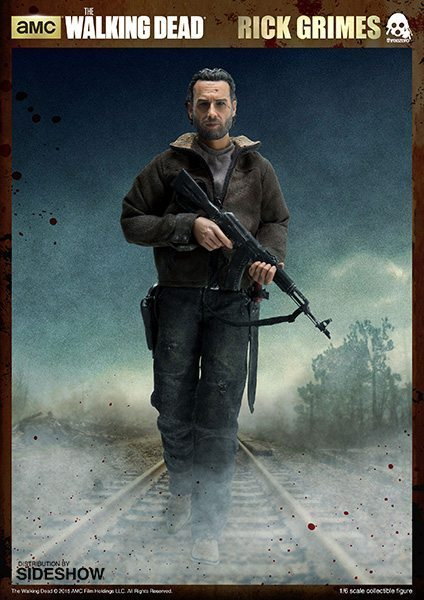 The Walking Dead Rick Grimes ThreeZero