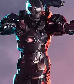 War Machine Civil War Art Scale Iron Studios