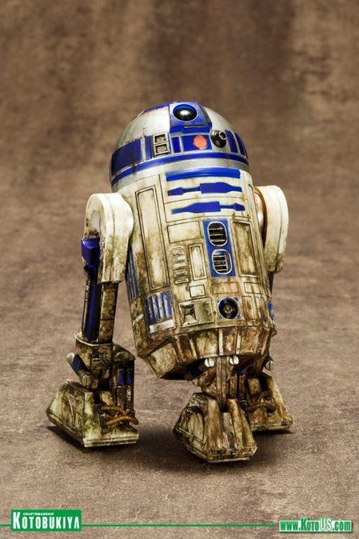 Yoda & R2-D2 Dagobah Pack ArtFX+ Statue Kotobukiya
