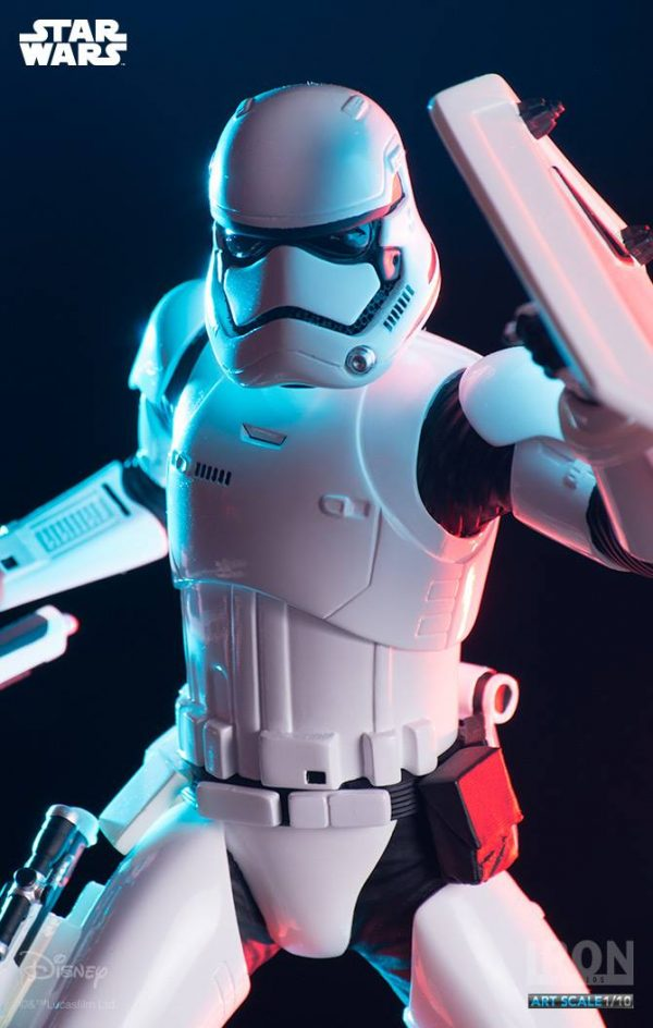 Stormtrooper Riot Control Art Scale Iron Studios