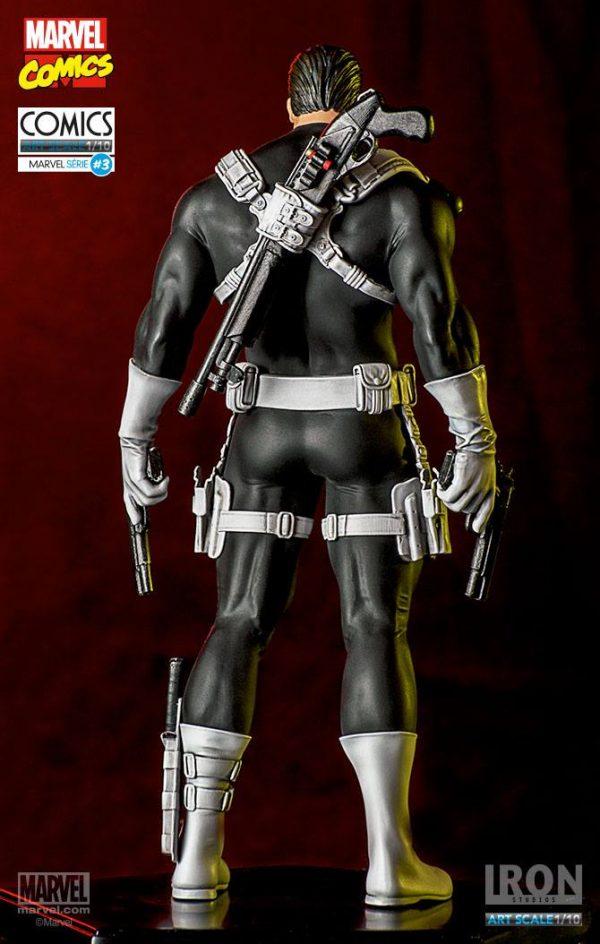 Punisher Marvel Comics Art Scale Iron Studios