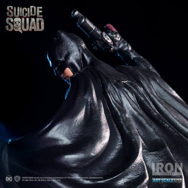 Batman Suicide Squad Art Scale Iron Studios