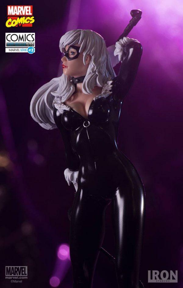 Black Cat Marvel Comics Art Scale Iron Studios