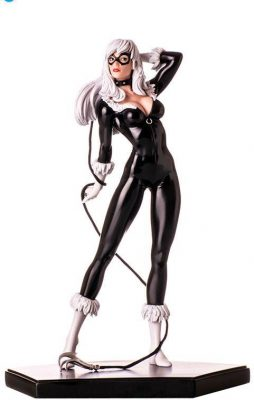 Black Cat Marvel Comics Art Scale Iron Studios - Iron Studios 1/10