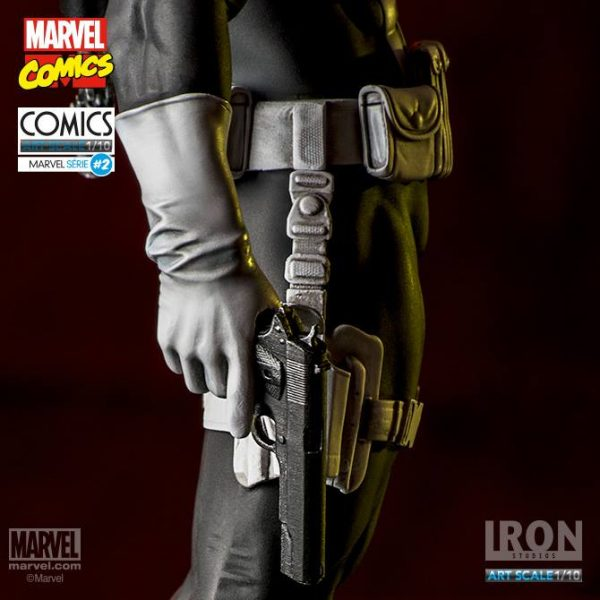 Punisher Marvel Comics Art Scale Iron Studios