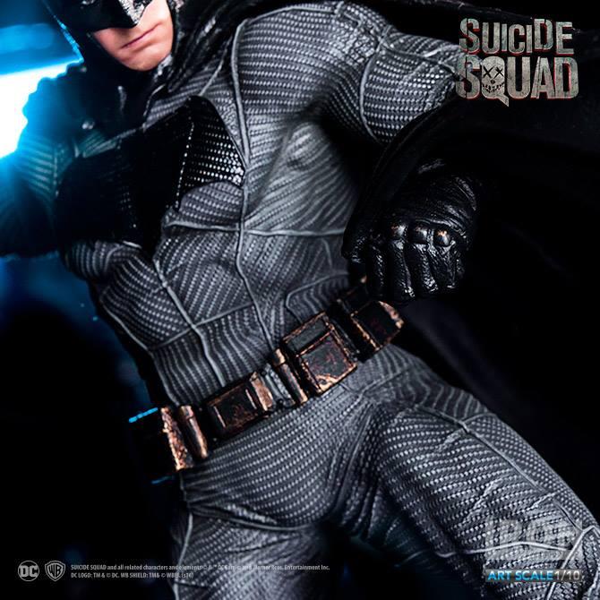 Batman Suicide Squad Art Scale Iron Studios