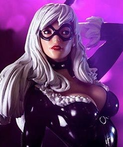 Black Cat Marvel Comics Art Scale Iron Studios